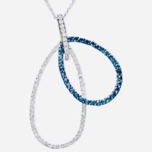 Jewelry - Diamond/Sapphire necklace